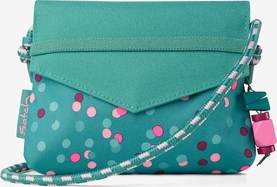 Satch Sac en turquoise / mélange de couleurs, Vue avec produit