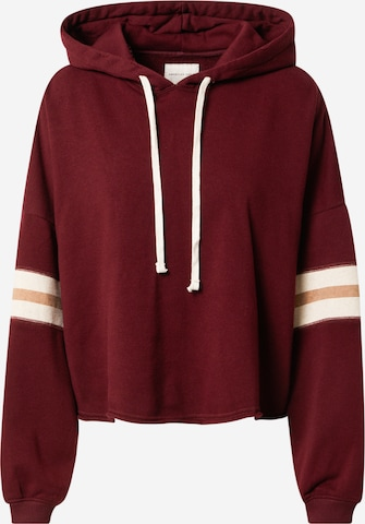 American Eagle Sweatshirt in Red