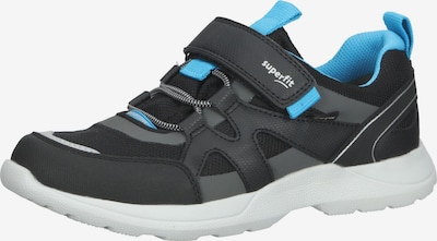 SUPERFIT Baskets en bleu / noir / blanc, Vue avec produit