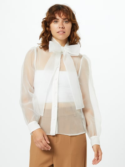 ONLY Bluse 'Jamie' in weiß, Modelansicht