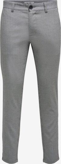 Only & Sons Chino ' Mark' in schwarz / weiß, Produktansicht