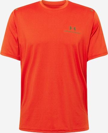 UNDER ARMOUR Funksjonsskjorte 'Rush Energy' i rød
