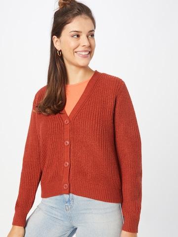 Cardigan 'SOOKIE MELTON' ONLY en rouge