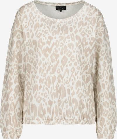 monari Sweatshirt in sand / weiß, Produktansicht