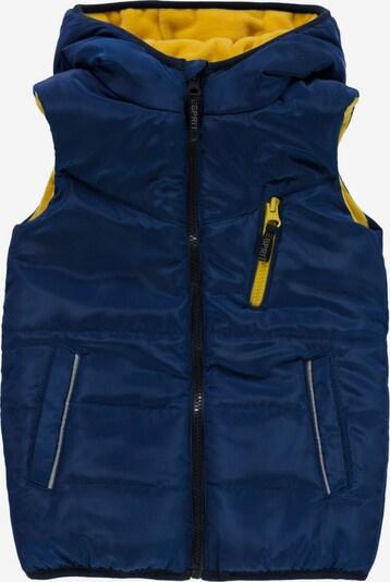 ESPRIT Bodywarmer in de kleur Donkerblauw / Geel, Productweergave
