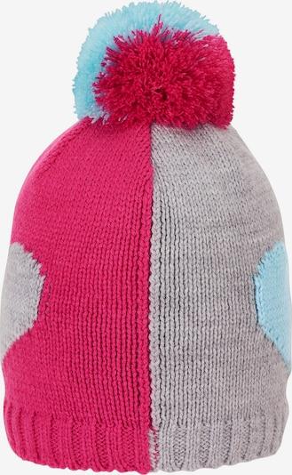 STERNTALER Beanie in light blue / light grey / pink, Item view