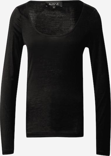 Aligne Shirt 'Amanda' in schwarz, Produktansicht