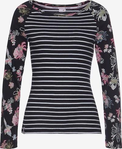 KangaROOS Shirt in pink / schwarz / weiß, Produktansicht