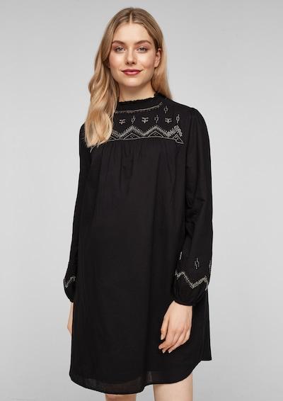 s.Oliver Kleid in schwarz, Modelansicht