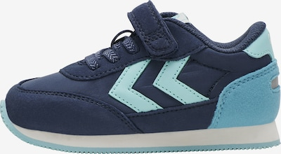 Hummel Sneakers in de kleur Marine / Lichtblauw, Productweergave