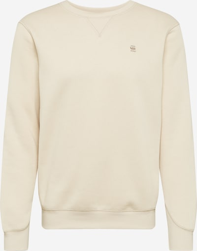 G-Star RAW Sweatshirt in creme / sand, Produktansicht