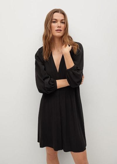 MANGO Kleid 'SMITHS' in schwarz, Modelansicht