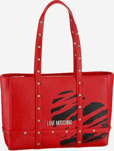 Love Moschino Tasche in rot / schwarz, Produktansicht