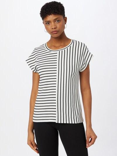 Kaffe T-shirt 'Jo Liddy' en noir / blanc: Vue de face