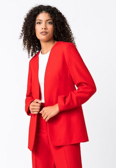 HALLHUBER Blazer mit Leinen & TENCEL™ in rot, Modelansicht