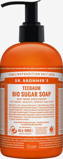 Dr. Bronner's Seife 'Teebaum Bio Sugar' in karamell, Produktansicht