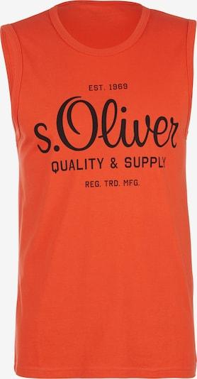 s.Oliver Tanktop in orange / schwarz, Produktansicht