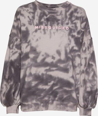 Missguided Sweatshirt in grau / taupe / pink, Produktansicht