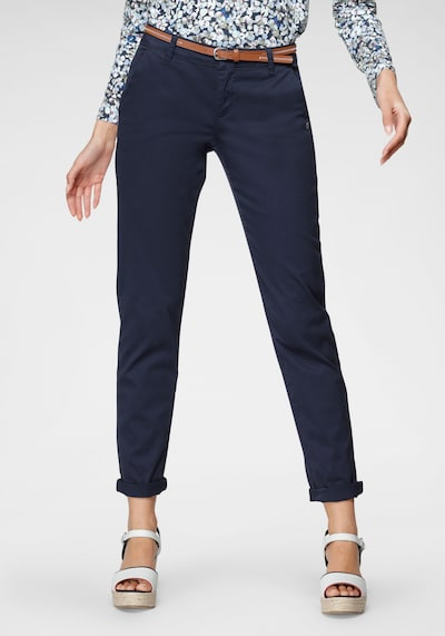 Tom Tailor Polo Team Chinohose in navy, Modelansicht