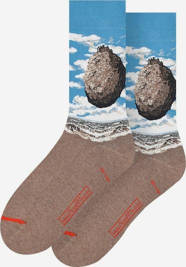 MuseARTa Socken in blau / braun, Produktansicht