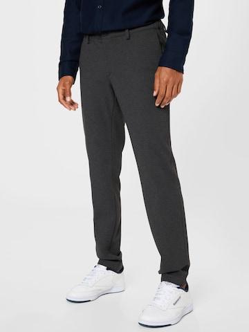 Pantalon chino 'SILVIO' BRAX en gris