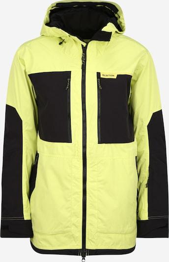 BURTON Veste outdoor en jaune / noir, Vue avec produit