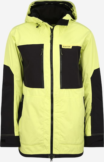 BURTON Outdoorová bunda - žltá / čierna, Produkt