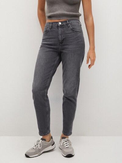 MANGO Jeans 'Newmom' in grey denim, Modelansicht