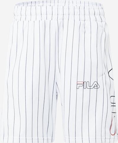 FILA Pantalon de sport 'JANI' en bleu nuit / melon / noir / blanc, Vue avec produit