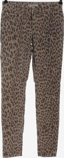 YAYA Pants in S in Brown / Wool white, Item view