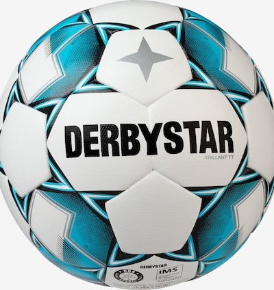 DERBYSTAR Ball 'Brilliant' in türkis / schwarz / weiß, Produktansicht