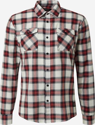 Dalykiniai marškiniai iš SHINE ORIGINAL , spalva - tamsiai mėlyna / vyno raudona spalva / balta, Prekių apžvalga