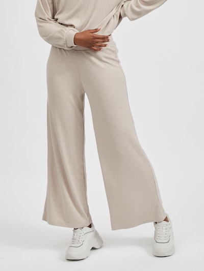 VILA Pants in Nude: Frontal view