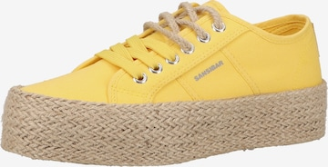 SANSIBAR Sneakers in Yellow