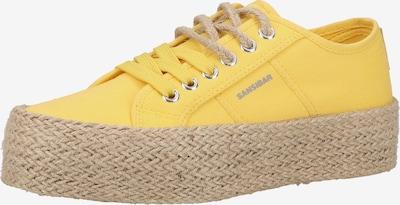 SANSIBAR Sneaker in gelb, Produktansicht
