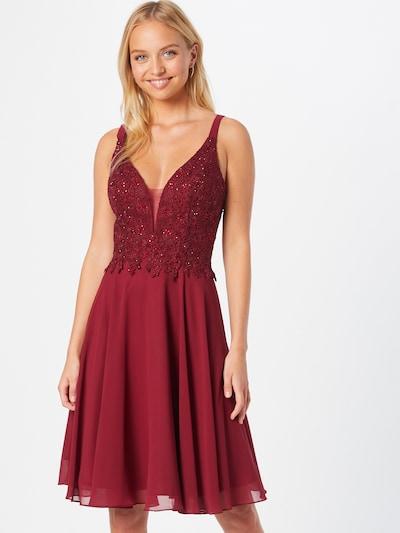 MAGIC NIGHTS Kleid in bordeaux, Modelansicht