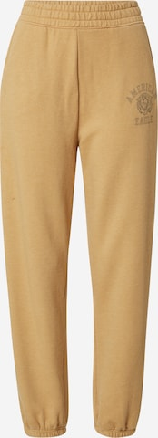 American Eagle Trousers in Yellow