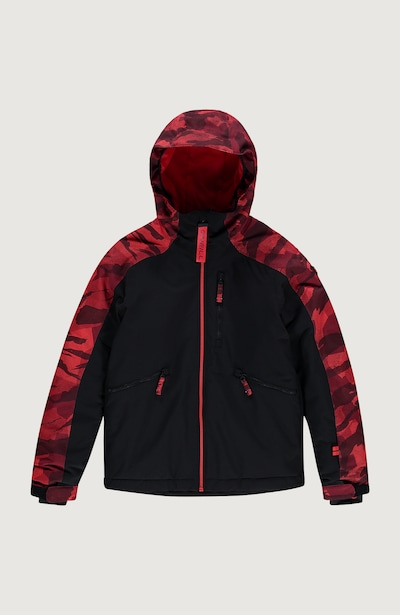O'NEILL Skijacke 'Diabase' in rot / schwarz, Produktansicht