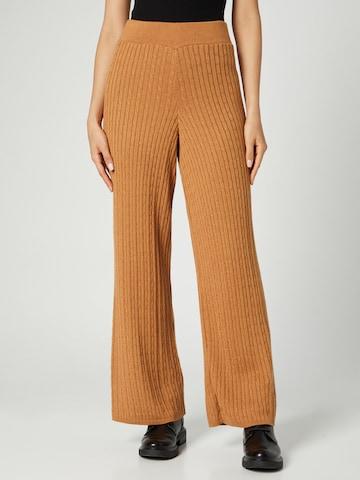 Pantaloni 'Valeria' di Guido Maria Kretschmer Collection in marrone