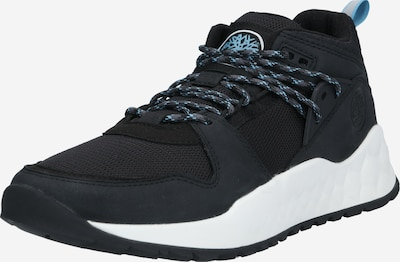 TIMBERLAND Athletic lace-up shoe in blue / black, Item view