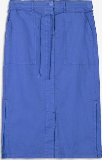 Sandwich Leinenrock in blau, Produktansicht
