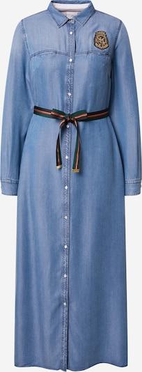 La Martina Robe-chemise en bleu, Vue avec produit