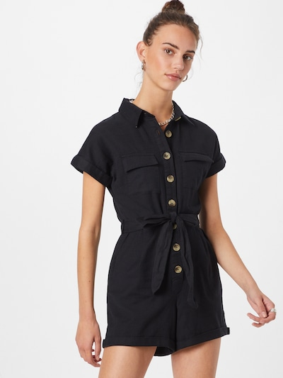 NEW LOOK Overal - černá, Model/ka