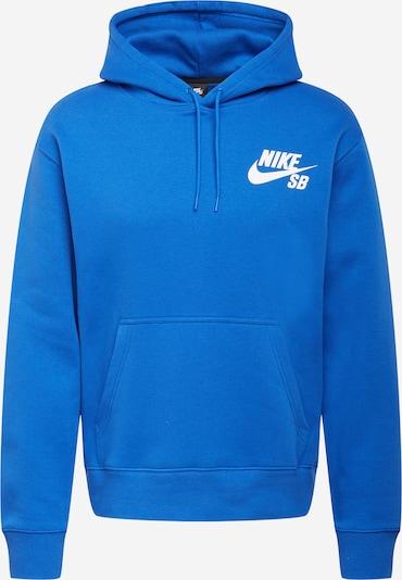 Nike SB Sudadera en azul real / blanco, Vista del producto