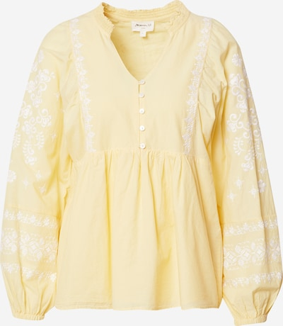 Maison 123 Blouse 'ANNA' in Yellow / White, Item view