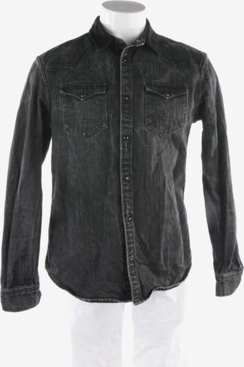 All Saints Spitalfields Jeansjacke in M in schwarz, Produktansicht