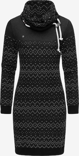 Ragwear Kleid 'Chloe' in schwarz / weiß, Produktansicht