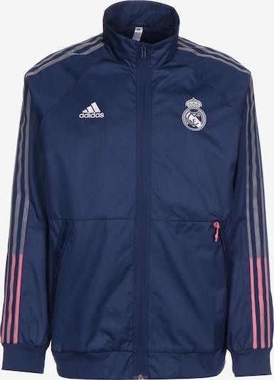 ADIDAS PERFORMANCE Veste de sport 'Real Madrid Anthem' en bleu foncé / violet / rose / blanc, Vue avec produit
