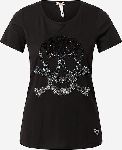 Key Largo T-Shirt 'HEAD' in schwarz / silber, Produktansicht
