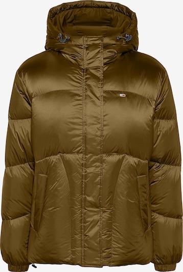 Tommy Jeans Wintermantel in de kleur Brons, Productweergave